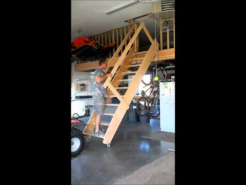 rolling garage stairs.wmv