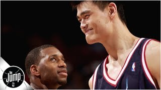 Tracy McGrady confesses he targeted Yao Ming for dunks while on Magic | The Jump