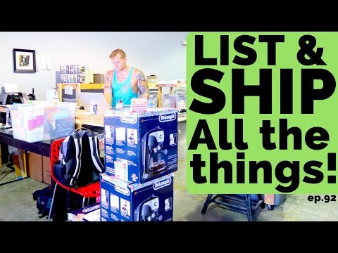 How Long Does It Take To List 1 Item on eBay!? - LIST & SHIP & SHIP & LIST   Vlog 92 Ralli Roots