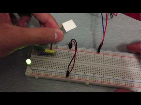 How to Make a Simple Touch Sensor, Tutorial and Circuit