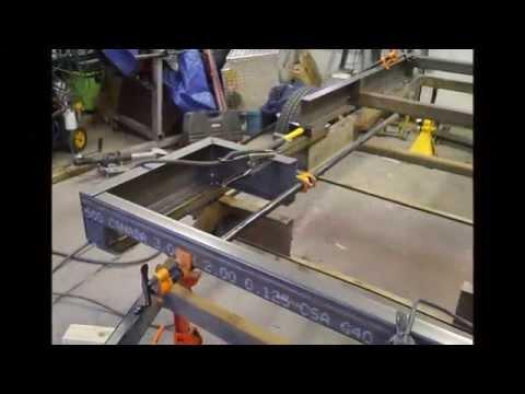 Boler (Scamp)Trailer - Designing & Building the Frame -- Part 2