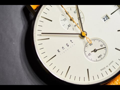 Knot Watch Review. The CC-39 Chronograph