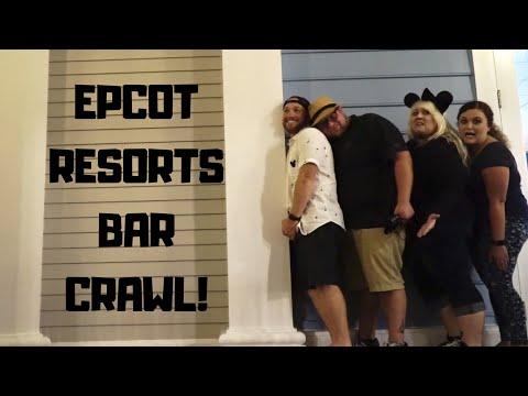 The Epcot Resorts Bar Crawl with Paging Mr. Morrow!
