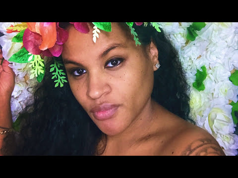 Assembling Tropical Floral Crown