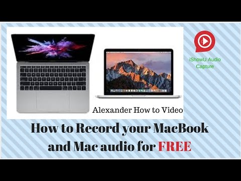 How to record your screen and Mac audio (MacBook Pro)