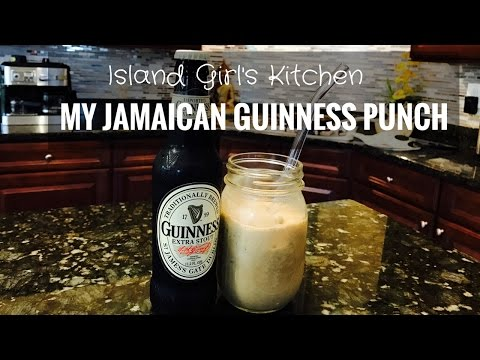 My Jamaican Guinness Punch