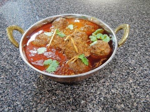 Restaurant Style Kofta Curry/ Meatballs Curry/ کوفتہ کری