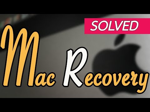 How to use macOS Recovery, If you can not use your mac.