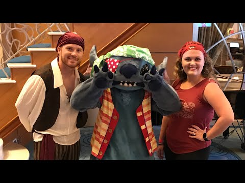 DINING REVIEW: Pirate Night at Lumiere's on the Disney Magic   April 2018