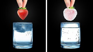 EASY SCIENCE EXPERIMENTS to surprise you by 5-minute MAGIC