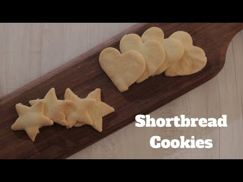 Christmas Shortbread Butter Cookies - Easy To Make Shortbread Cookies - Christmas Special Cookies