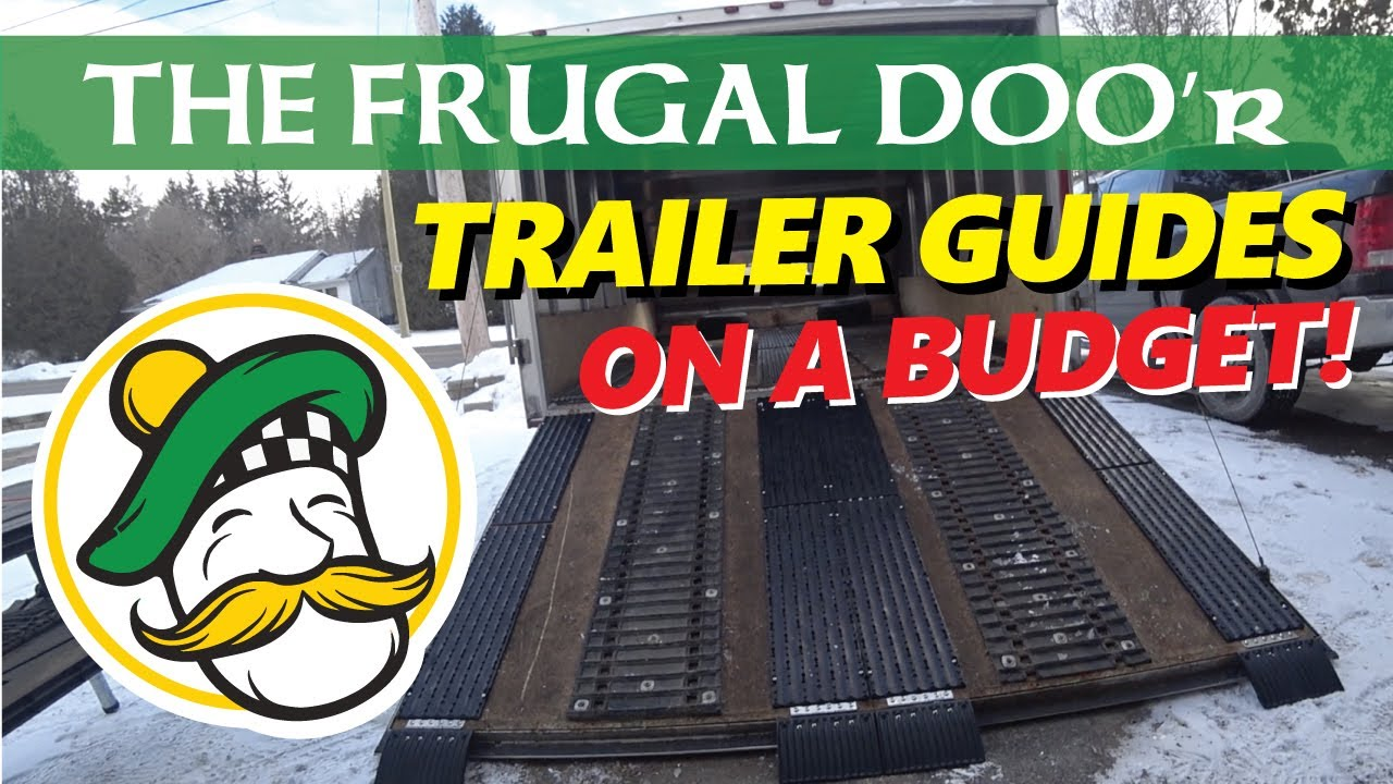 THE FRUGAL DOO'r   Caliber Snowmobile Trailer Traction and Ski Guides on a budget