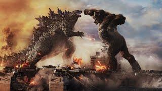 Godzilla vs. Kong Ocean Battle Movie Scene 2021 Ships Sea Fight