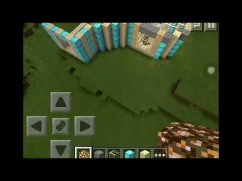 Minecraft pocket edition creative world part 1