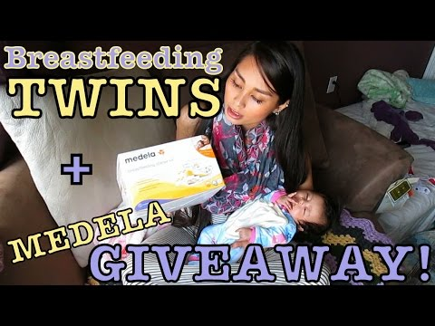 Pumping Breast Milk for TWINS + Giveaway! - LaustinTiime