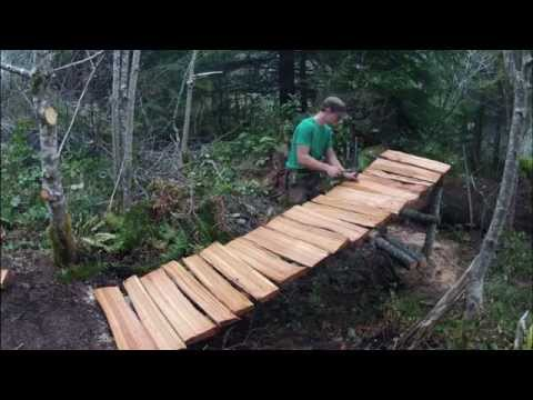 Mountain bike trail building