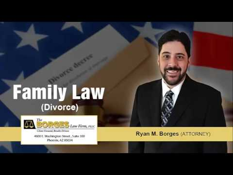 How Is Divorce Legally Defined In The State Of Arizona? | (602) 456-1918