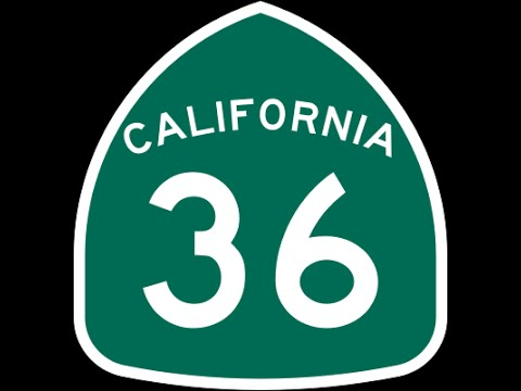 California Hwy 36 Part 1A