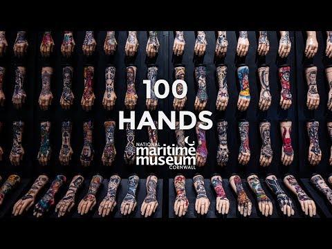 100 Hands   British Tattoo Art Revealed   National Maritime Museum Cornwall