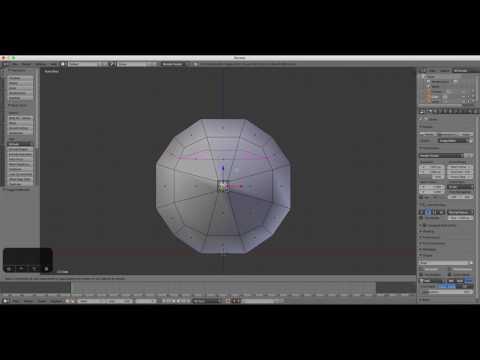 Beginners Blender 3D: Tutorial 6 - Modeling a Cartoon Face (2.78 HD Update)