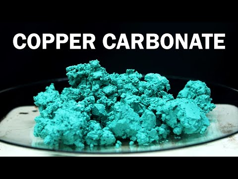 Making Basic Copper Carbonate