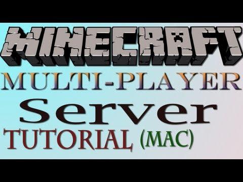 How To Make A Minecraft Server (Mac) - HD