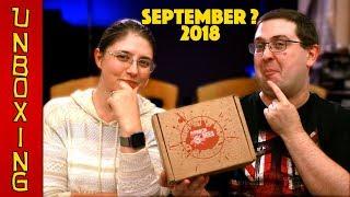 UNBOXING! Horror Bees September 2018 - Horror Movie Subscription Box