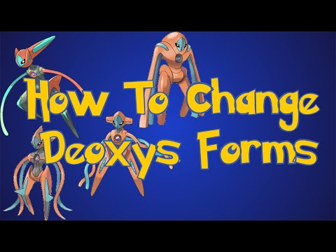 Pokemon Omega Ruby and Alpha Sapphire Tips: How To Change Deoxys Forms