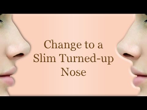 Change to a Slim Turned-up Nose (Subliminal technique)