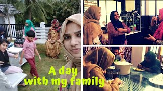 A day with my family I Brothers & Sis in laws I Meetup gifts unboxing_ TasteTours by Shabna hasker