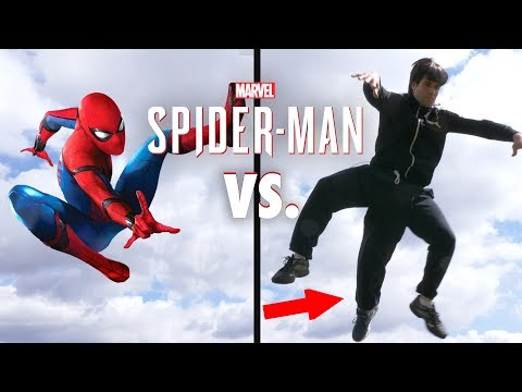 Spiderman In Real Life Parkour