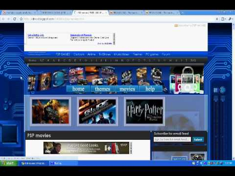 Ezpztutorial HowTo Get free Movie downloads for ipod or psp