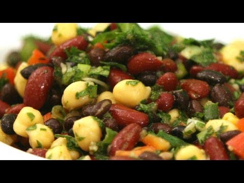 Three Bean Salad HEALTHY THREE BEAN SALAD RECIPE
