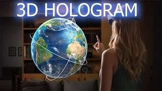 How To Make 3D BIG Hologram Projector