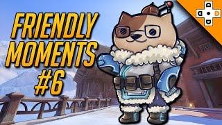 Overwatch Friendly Moments #6 - I GOTCHU SPOTTO - Highlights Montage