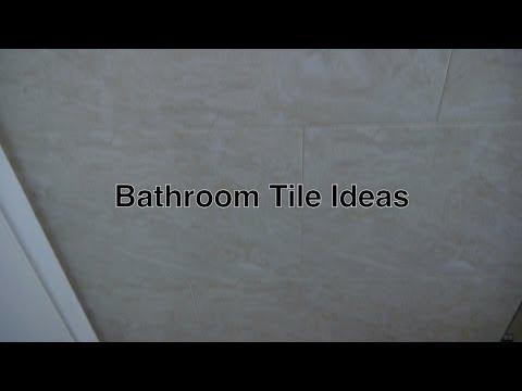 Bathroom Tile Ideas & Designs For Floor + Wall Tiles For Small Modern Bathrooms w/ Ceramic Flooring
