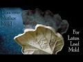 Concrete Leaf Casting | Concrete Mother Mold For Latex Leaf Mold