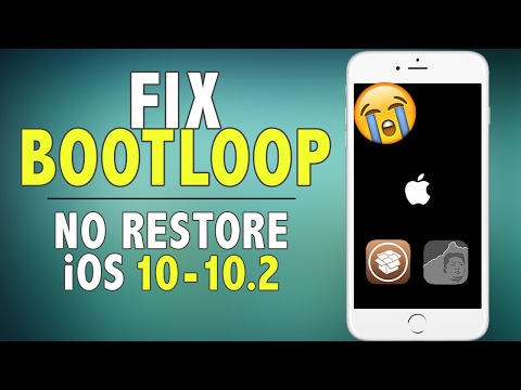 How to Fix Bootloop/Perma Safe Mode on iOS 10 - 10.2 Jailbreak (NO RESTORE) | Yalu iOS 10 Jailbreak