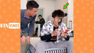 Funny videos 2021 ✦ Funny pranks try not to laugh challenge P166