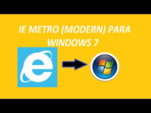 IE 10 Metro Windows7 (MetroIE)