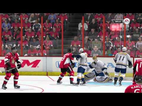 NHL 12 - Nashville @ Ottawa (SCF G1) - Be A Pro