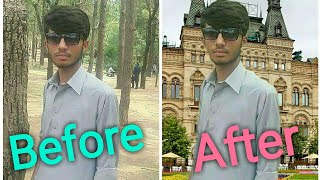 How to change photos Background with 1 click