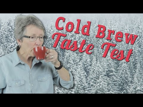 Taste Test: Cold Brew Systems!