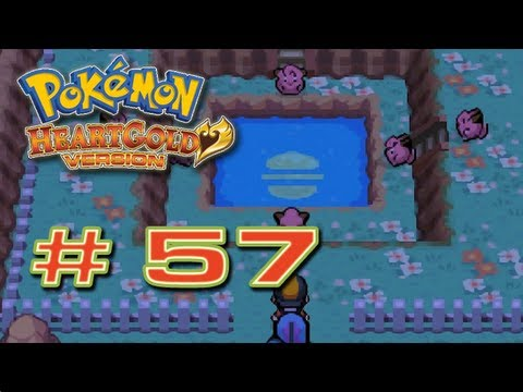 Pokémon HeartGold - # 57 ( Ruta 3 , 4 y MT.Moon
