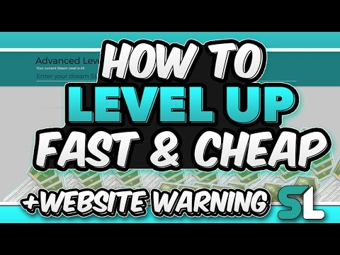 HOW TO LEVEL UP FAST ON STEAM [CHEAP & FAST]