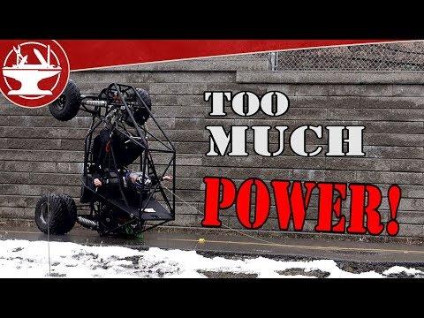 Electric Batman Tumbler Part 3 - DUALIE WHEELS!