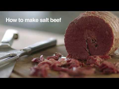 How to make salt beef