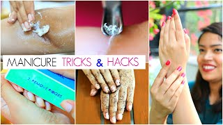 कम पैसों में MANICURE कैसे करें - Step by Step Manicure at Home | #Hack #Beauty #Anaysa