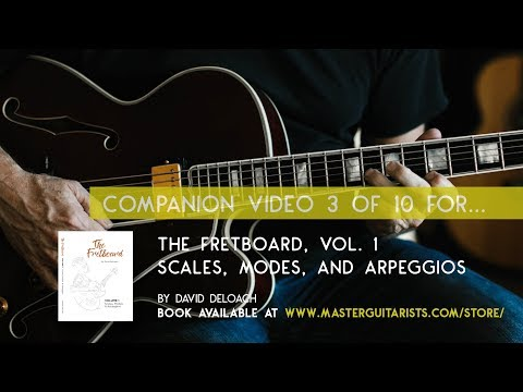Part 3 of 10: Tutorial for THE FRETBOARD, VOL 1. by David DeLoach