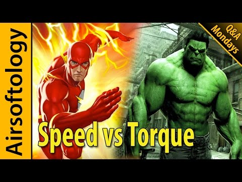 High Speed vs High Torque - Which is the Better Motor? | Airsoftology Mondays